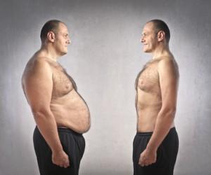 Dicker Bauch vs. flacher Bauch