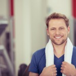 portrait im fitness-studio