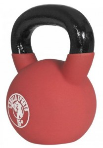 Red Rubber Kettlebell